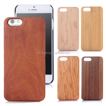 2015 New Arrival Wood Bamboo+PC Mobile Phone Case Wholesale Wooden Case for iPhone 6 Plus