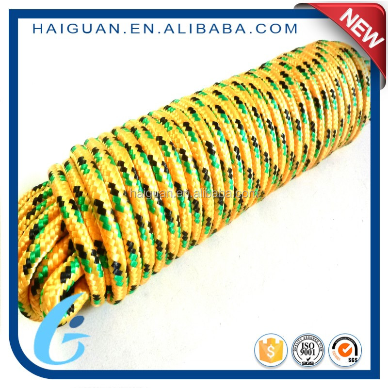 Colorful Cheap Diamond Braided Polypropylene Cord Rope For Crafts And Toys