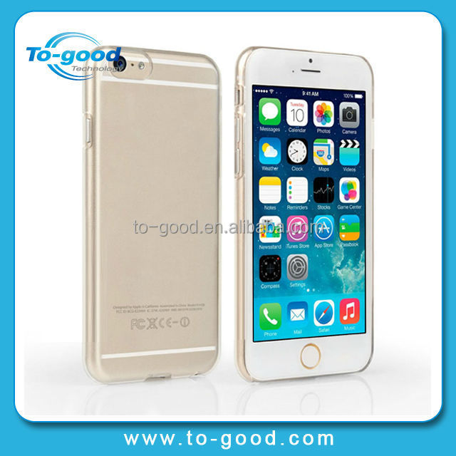 Ultra-Thin Transparent Hard Plastic Crystal Clear Luxury Protective Cover For iPhone 6,Phone Case For iPhone6 4.7 Inch