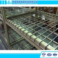 Steel Storage Electro Galvanize Wire Mesh Decking Panels