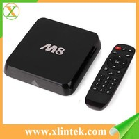 2015 best selling M8N tv box M8 2gb ddr3 ram Satellite receiver android blu ray player