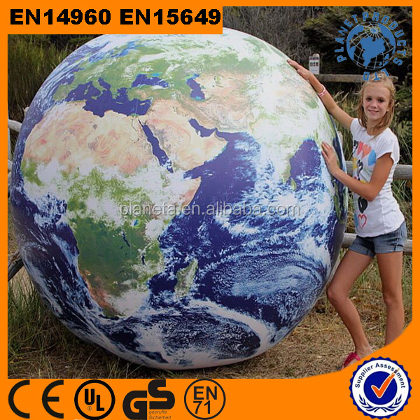 Giant Inflatable Earth Globes Ball For Advertising