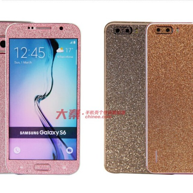 New business idea mobile phone case body diamond cell phone gem stickers