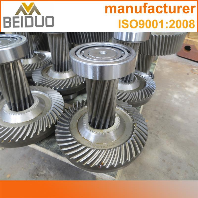 Directry factory custom made forged steel gear spiral gear