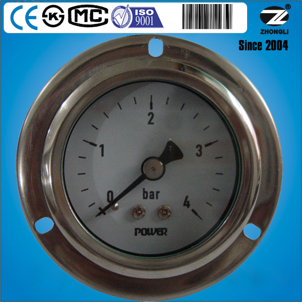 "(Y-60BD)2.5"" 60mm axial brass connection standard gas turbine meter"