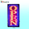 customized designed led square open sign approval UL High end acrylic cover only 2.5 cm thickness flashing advertising sign