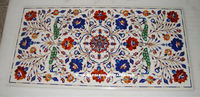 White Marble Inlay Table Top, Marble Dining Table Tops