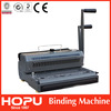 spiral book binding machine wire punch bind machine manual spiral binding machine