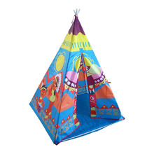 Factory Hot Sale Canvas Children Kids Play Indian Teepee Tent