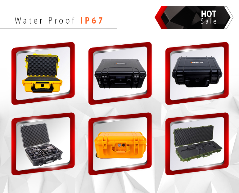 High PP Plastic Waterproof Case for Equipment HTC010