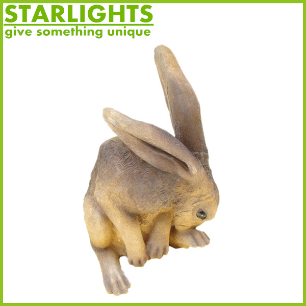 Easter naughty poly resin Rabbit on the eggs decoration desk ornaments for easter gifts