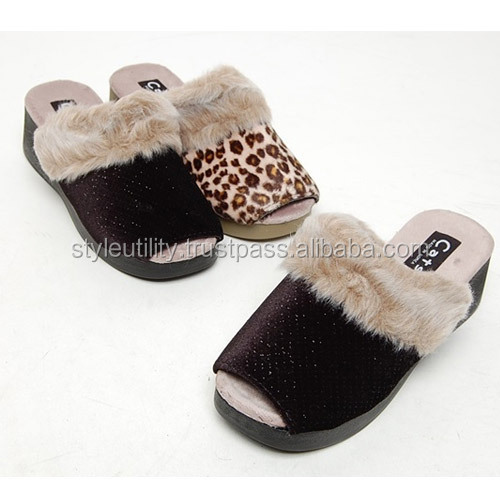 2spd0854 winter fur casual Wool 5.5cm slipper Made in korea
