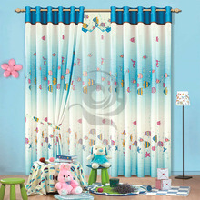 fancy modern kids living room door curtains for baby