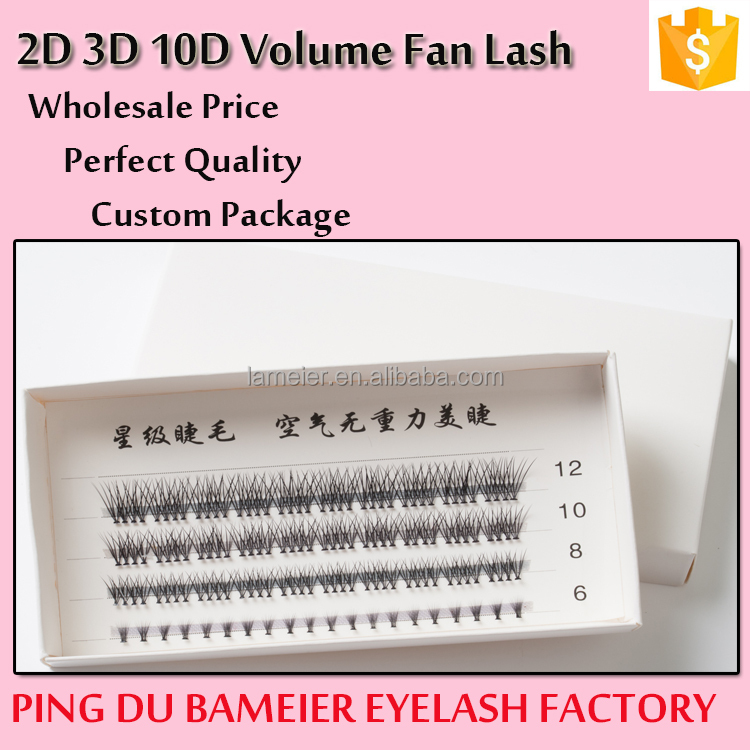 Premade Fan 2D 3D 4D 5D 6D 7D 8D 10D Volume Lashes
