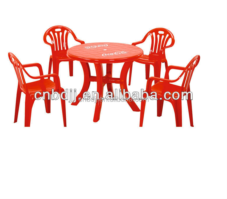used stacking cheap outdoor barbeque chair and table set