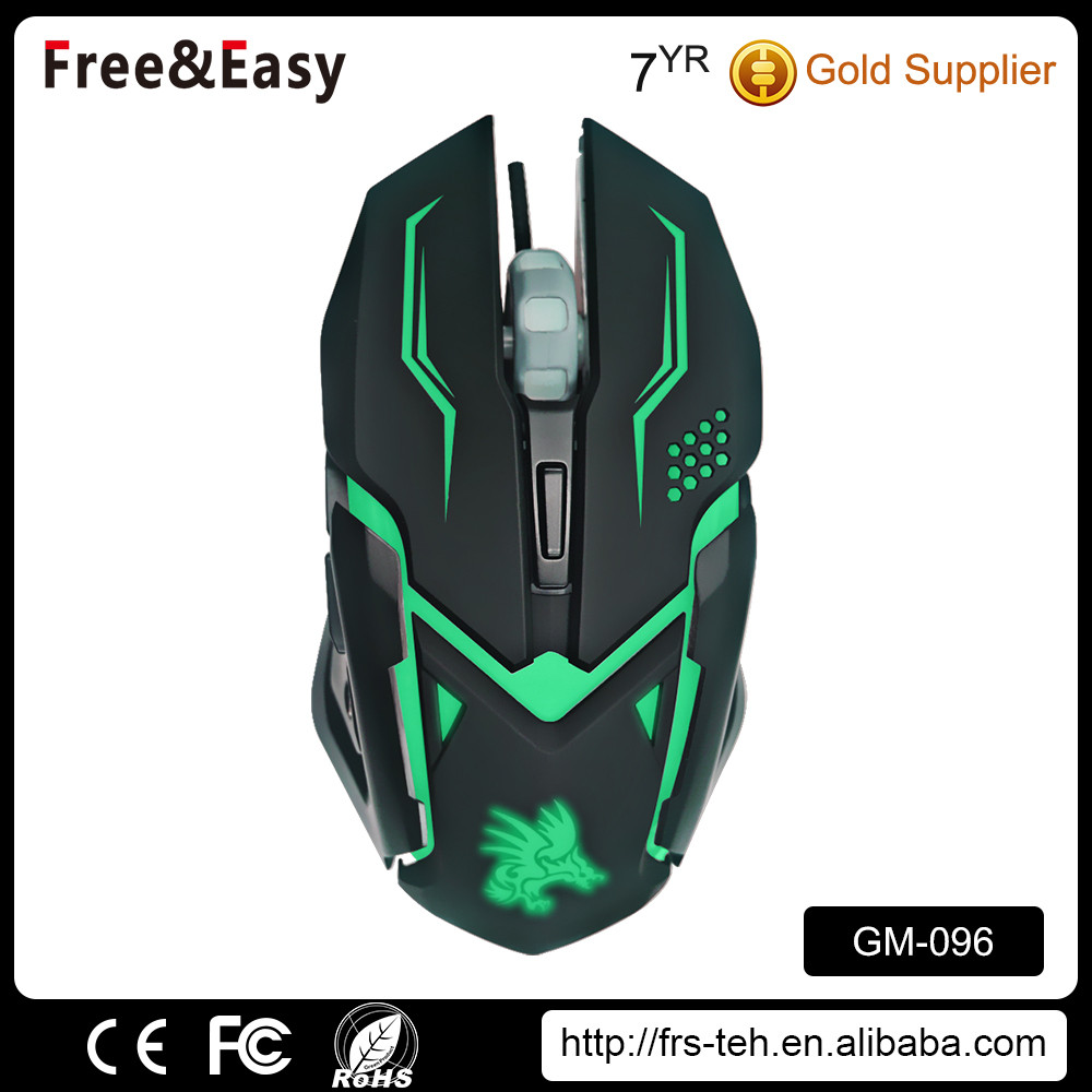 Custom design normal size computer 6d wired gaming mouse