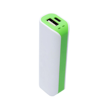 Small Power bank Compact Emergency Portable Bright Battery Charger, 2600mAh Power