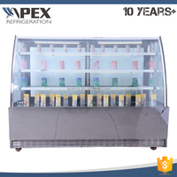 APEX Bakery Glass Pastry Display Cabinet