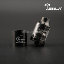 The newest Tesla Clapton RDA Arc shape drip tip,vapor more comfortable