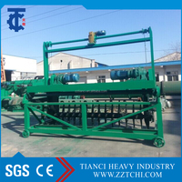 Fermentation tank type organic material humus compost turning machine