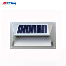 Ip65 Modern Up And Down Solar Shell Shaped Led Wall Light