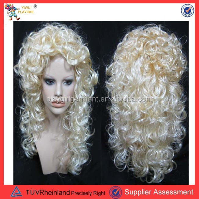 PGW-2176 Fashion full lace wigs cheap synthetic hair wigs weaving