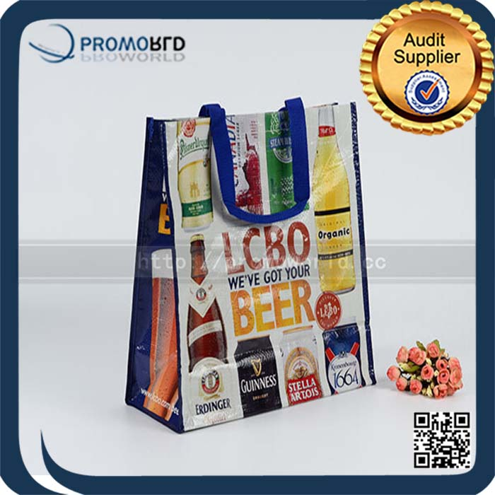 BSCI bag supplier foldable pp woven shopping bag