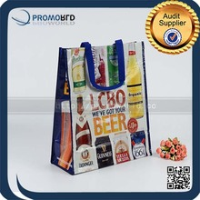 Colorful BSCI bag supplier foldable pp woven shopping bag