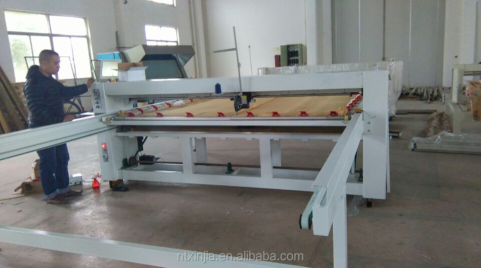 lockstitch quilting machine for bedding product