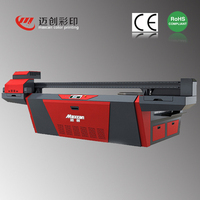 5500W 220V Maxcan F2500G offset printing machine manfacturer pvc card, mobile phone leather printed cases