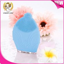 Rechargeable skin massager and cleansing vibration facial massage silicone face cleanser