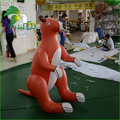 Good Price Cute Inflatable Kangaroo Cartoon / Large Plastic Animal Replica Kangaroo Toys For Kids
