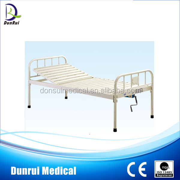 Manual One Function Iron Bed Steel Cots