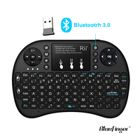 i8 2.4G Mini Wireless Qwerty Touchpad Keyboard Mouse for smart TV box