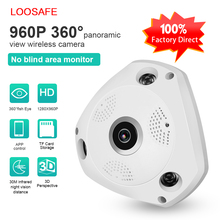 Wholesale HD 960P 360 degree fish eye wifi p2p ip camera remote monitoring hidden camera system ceiling mounted