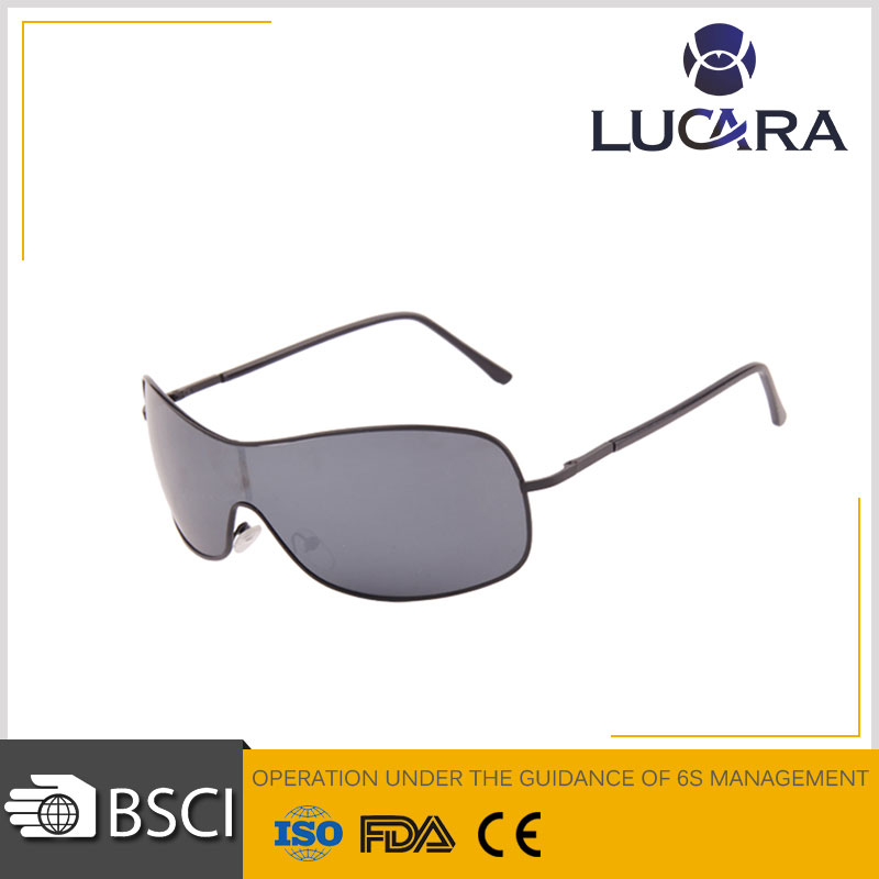 1:1 Hot new product designer yellow polarized sun glasses big branded sunglasses mens for 2016