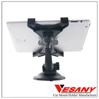 most popular product in alibaba adjustable abs+pc car tablet pc holder for iPad 2 3 mini