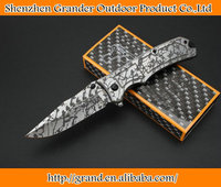 steel handle folding tools knife tactical survival knife tools EDC Tools knife hunting 6034