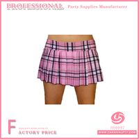 light pink plaid skirt junior size long