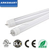 UL DLC listed led tube 180lm/w 200lm/w 12W 14W 18W 4ft 1800lm T8 glass led tube light for usa market