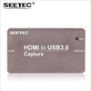Seetec not occupy the CPU 1080p/60 hdmi usb grabber for live streaming video capture