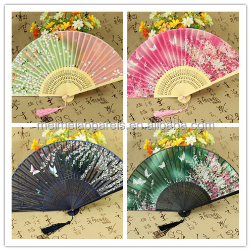 Cheap Custom Folding Hand fan With Your Own Design