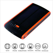 Factory Price for Dual USB 12000mAh Solar Power Bank External Battery Charger