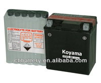 safe and reliable battery high power motorcycle battery