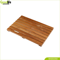 Goodlife high quality teak wood bath mat IWS53354