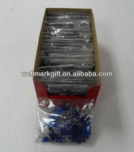 Foil PVC Christmas Snowflate Table Confetti