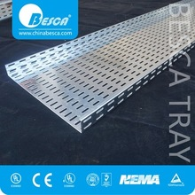 Galvanised Network And Power Cable Tray For Exporting