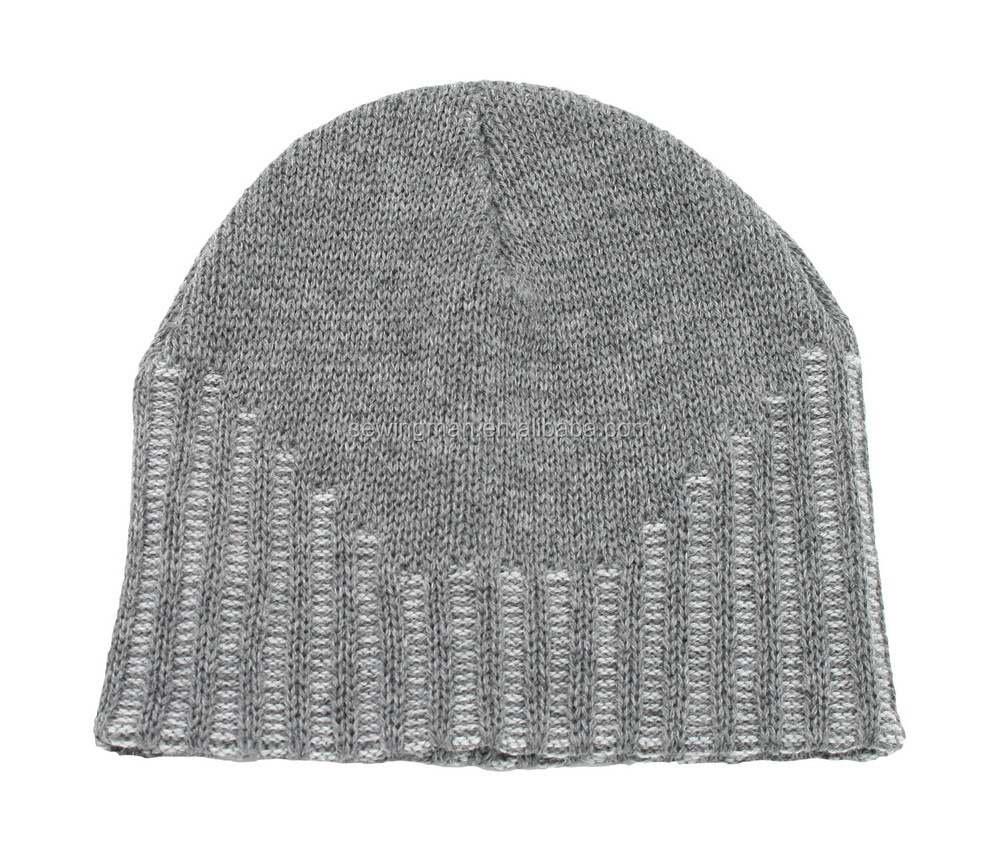 Sports Winter Hat Acrylic Jacquard Knitted Beanie
