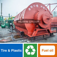 Win-win Combined Construction oil refining plant For Different Waste