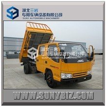 China facoty hot type JMC new type 109hp 4*2 Dump truck/Tipper truck for sale